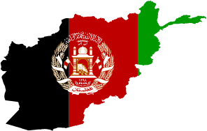 Afghanistan Flag Map [Source: OpenClipArt] - ABC Translations