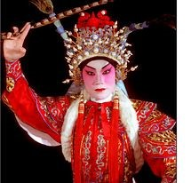 Actor from Yiu Ming, Cantonese Opera Group, Hong Kong [Photo credit: China Fotoprint] - ABC Translations
